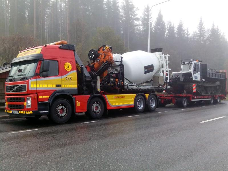 transport med lastväxlare